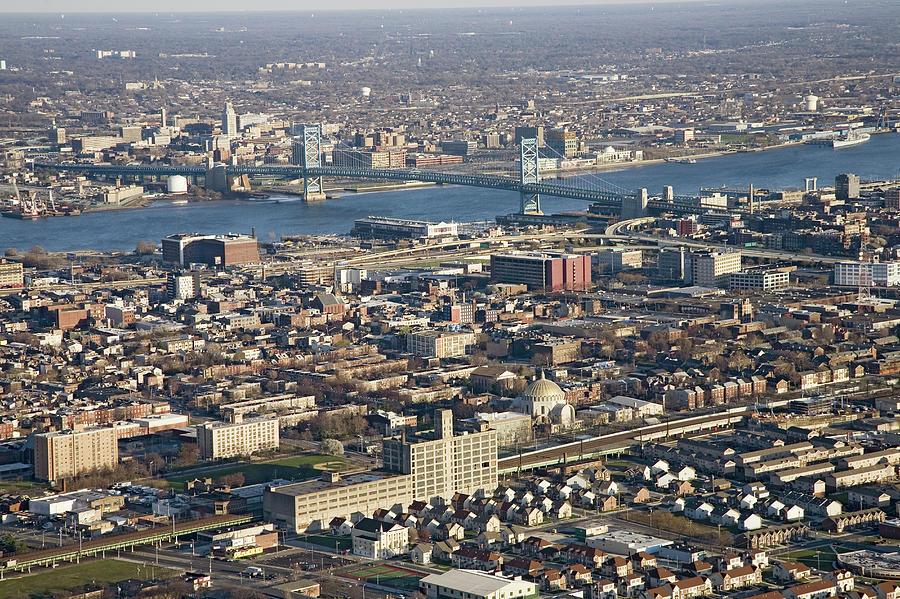 Usa, Pennsylvania, Philadelphia, Aerial Photograph by Joseph Sohm-visions Of America