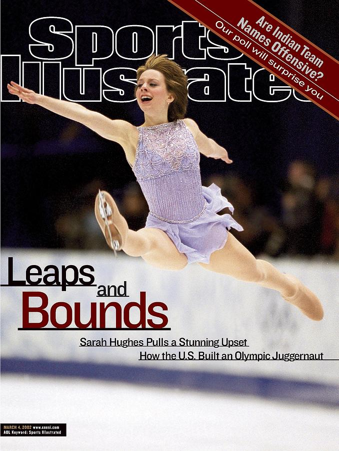 Usa Sarah Hughes, 2002 Winter Olympics Sports Illustrated Cover Photograph by Sports Illustrated