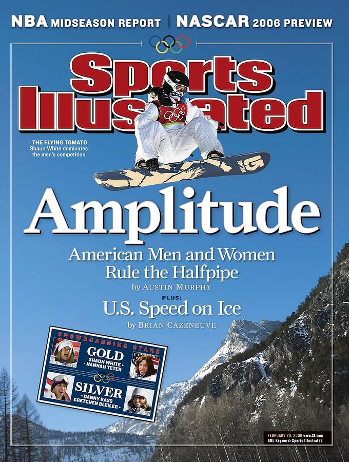 Usa Shaun White, 2006 Winter Olympics Sports Illustrated Cover Photograph by Sports Illustrated
