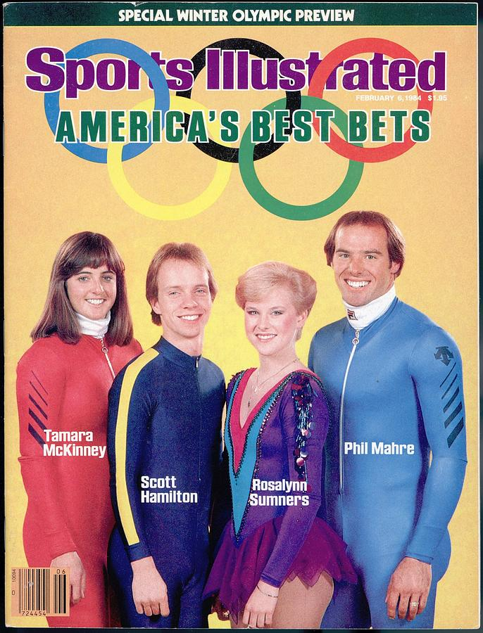 Usa Tamara Mckinney, Scott Hamilton, Rosalynn Sumners, And Sports Illustrated Cover Photograph by Sports Illustrated