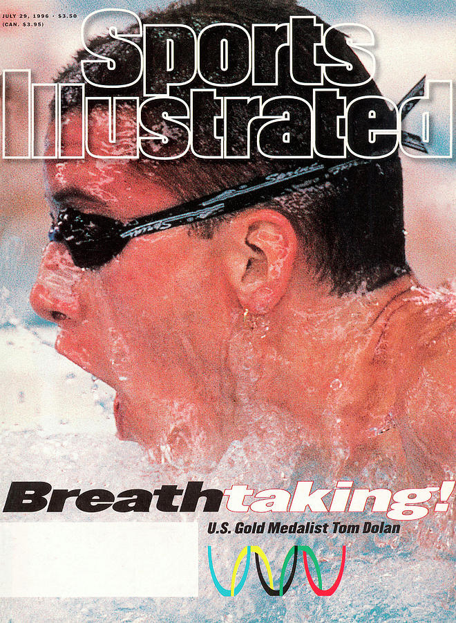 Usa Tom Dolan, 1996 Summer Olympics Sports Illustrated Cover Photograph by Sports Illustrated