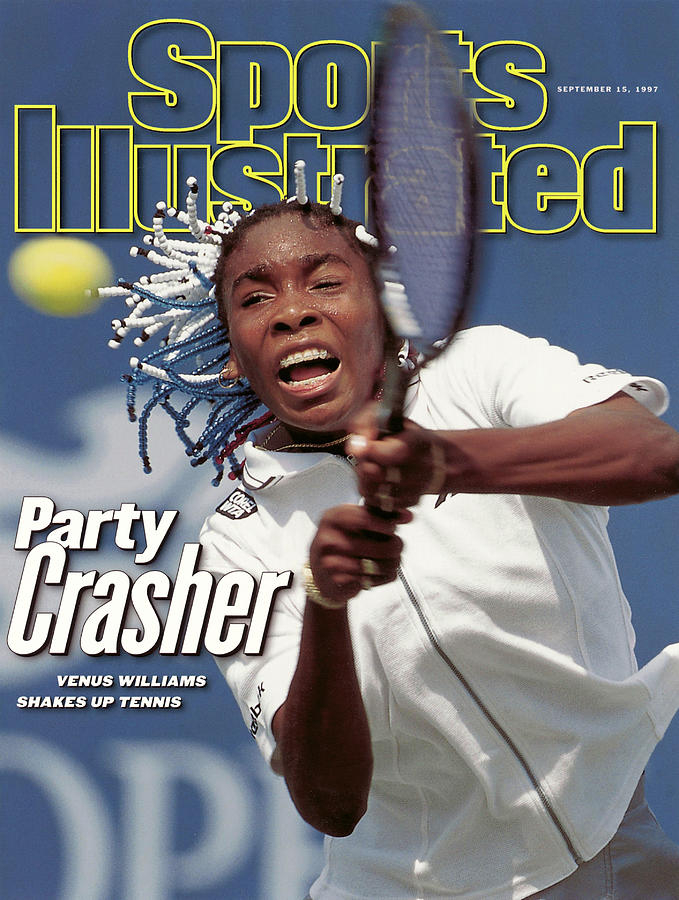 Usa Venus Williams, 1997 Us Open Sports Illustrated Cover Photograph by Sports Illustrated