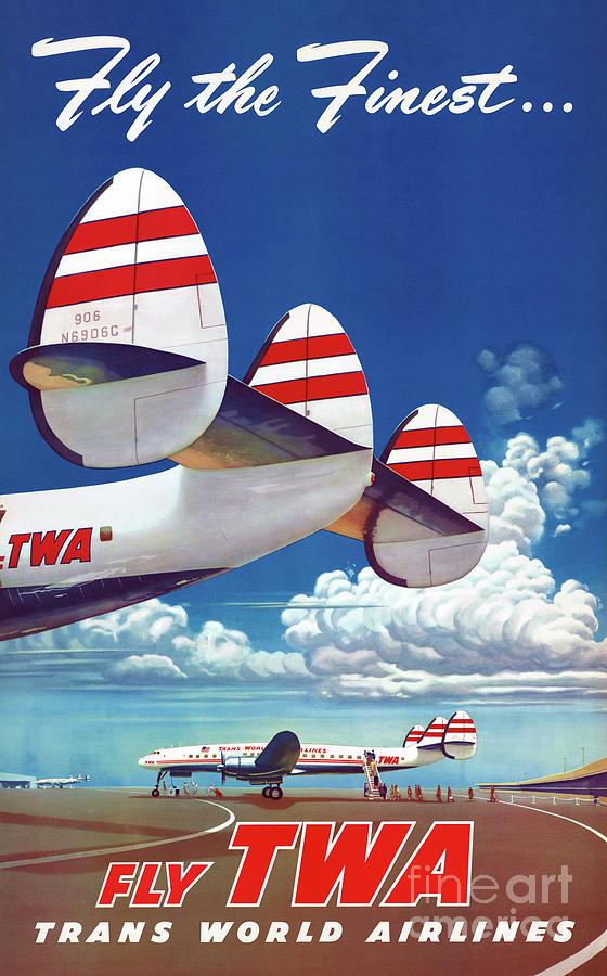 Vintage Drawing - Usa Vintage Travel Poster Restored 01 by Vintage Treasure