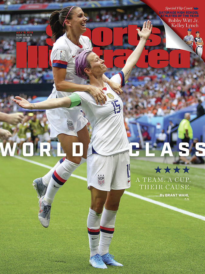 Usa Vs Netherlands, 2019 Fifa Womens World Cup Final Sports Illustrated Cover Photograph by Sports Illustrated