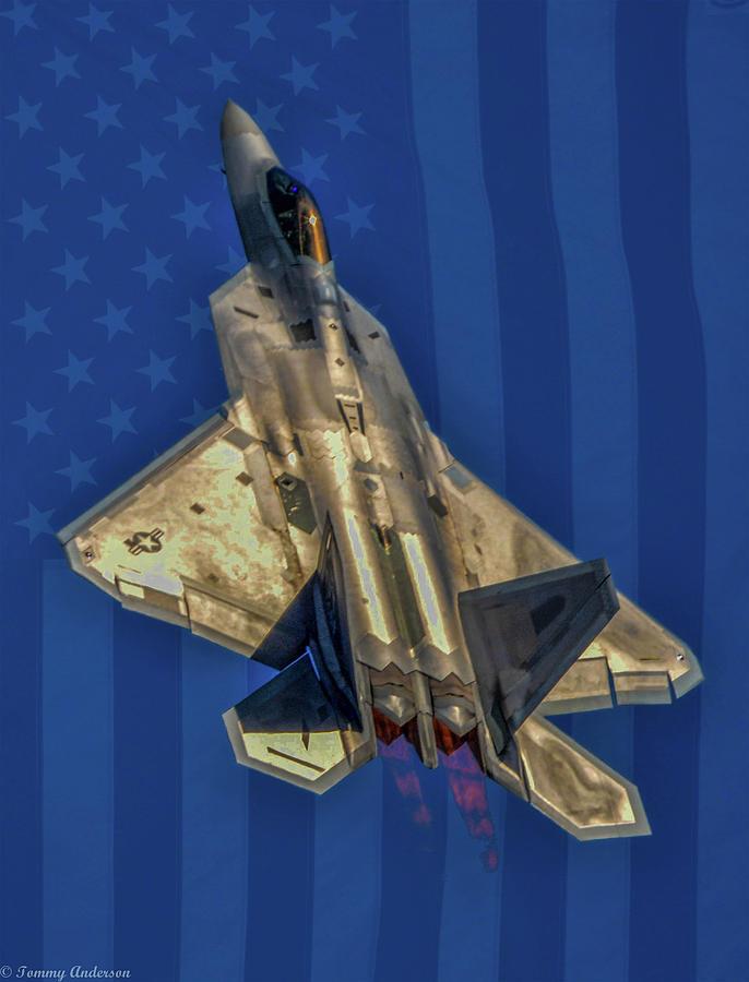 USAF Lockheed  F-22 Raptor by Tommy Anderson