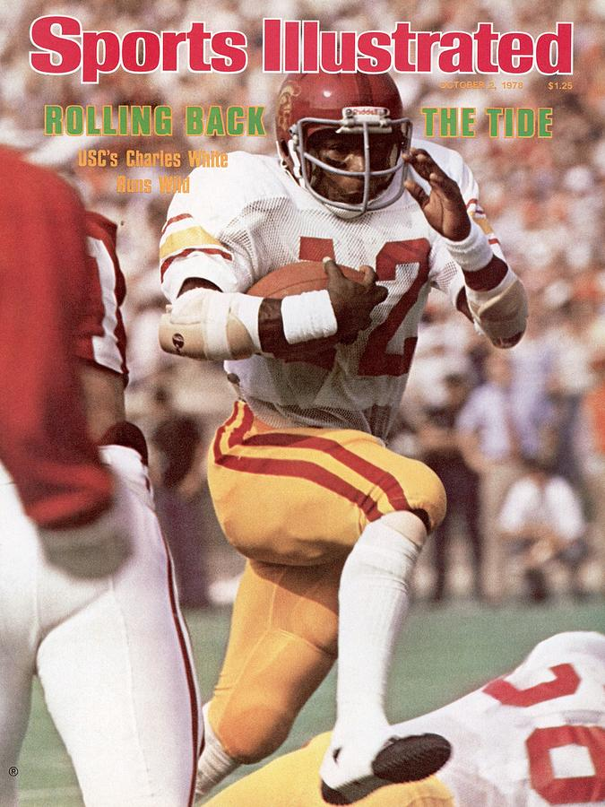 Usc Charles White... Sports Illustrated Cover Photograph by Sports Illustrated