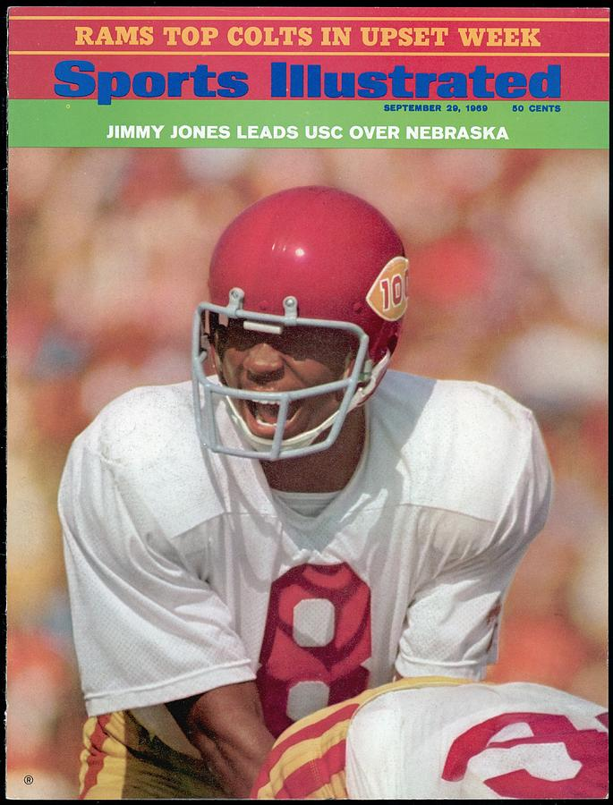 Usc Qb Jimmy Jones Sports Illustrated Cover Photograph by Sports Illustrated