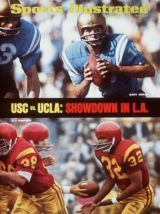 Usc Vs Ucla Preview Sports Illustrated Cover Photograph by Sports Illustrated