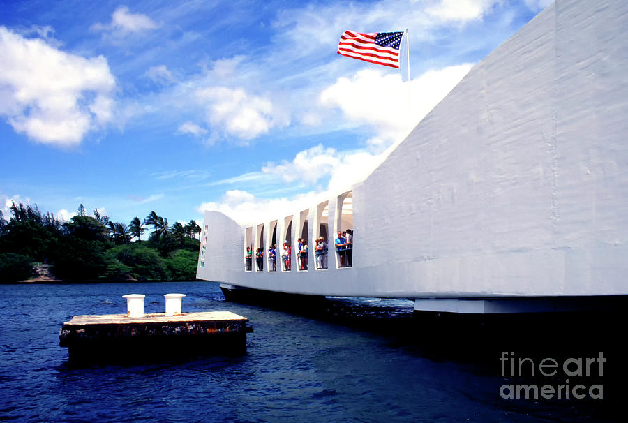 USS Arizona Memorial by Thomas R Fletcher