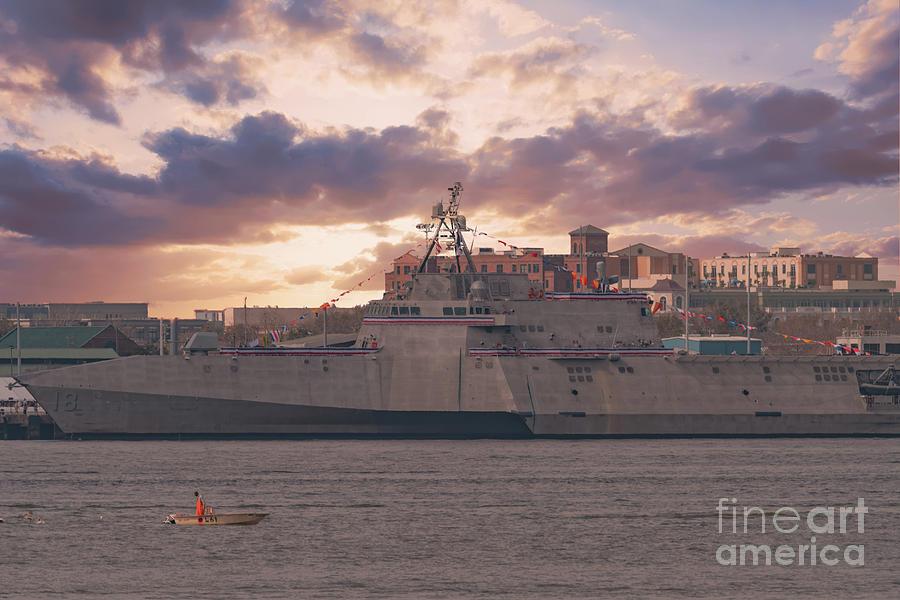 Uss Charleston - Litoral Combat Ship Photograph
