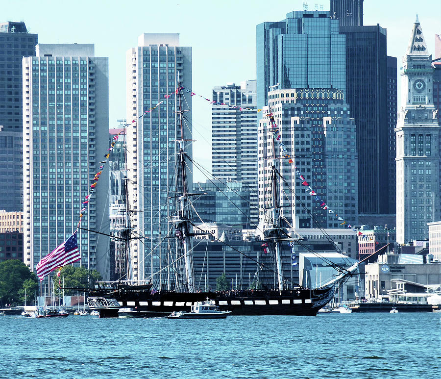 Uss Constitution Old Ironsides 300 Photograph