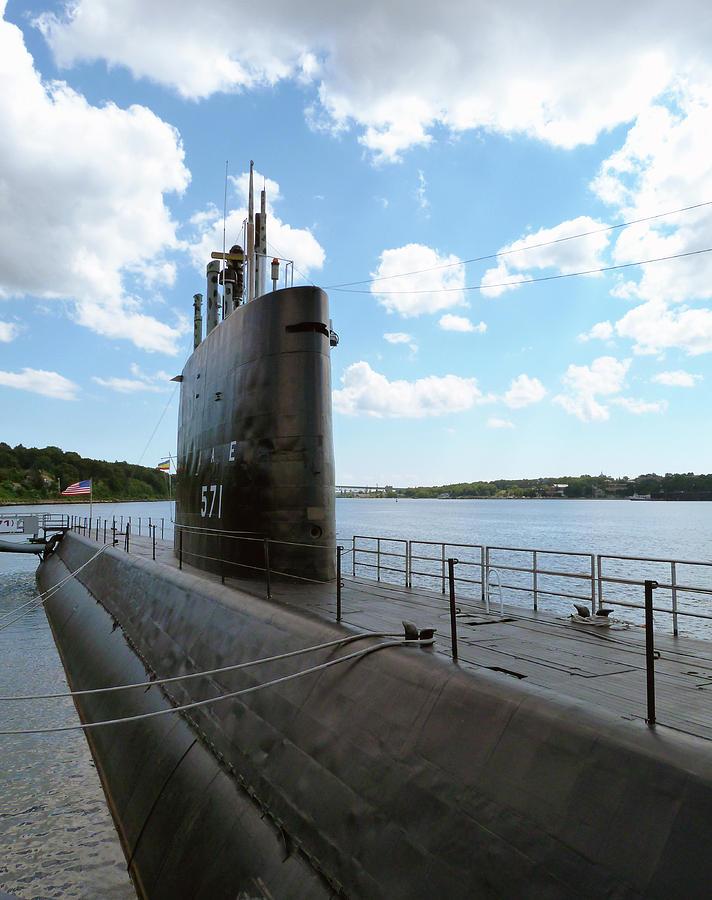 USS Nautilus Nuclear Submarine by Toni Leland