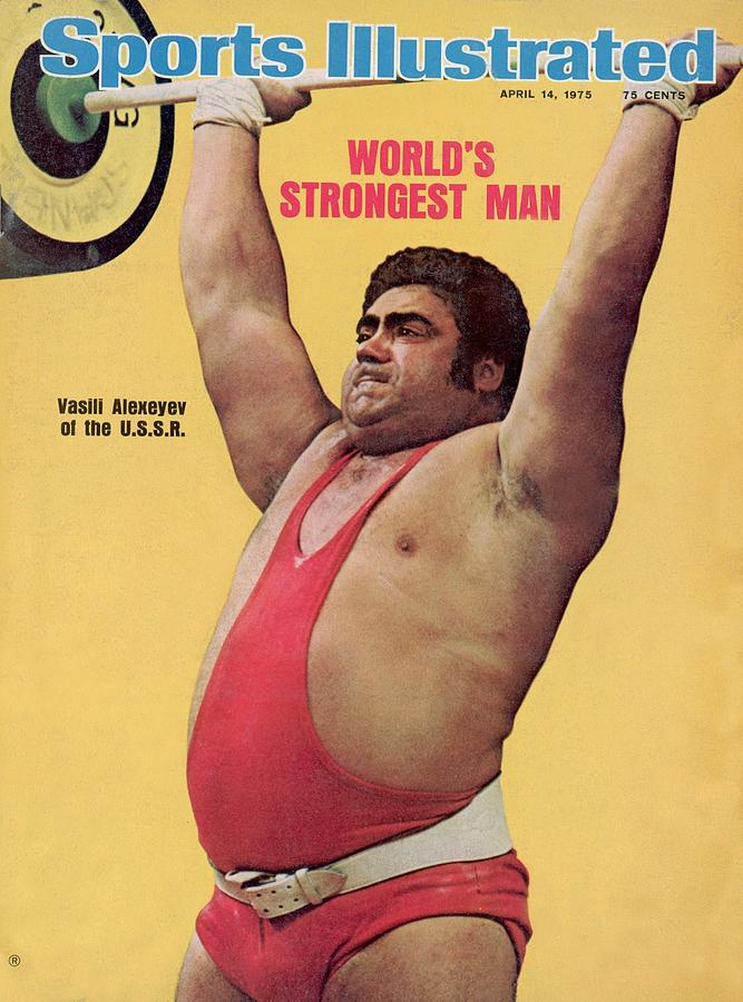 Ussr Vasily Alexeyev, 1972 Summer Olympics Sports Illustrated Cover Photograph by Sports Illustrated
