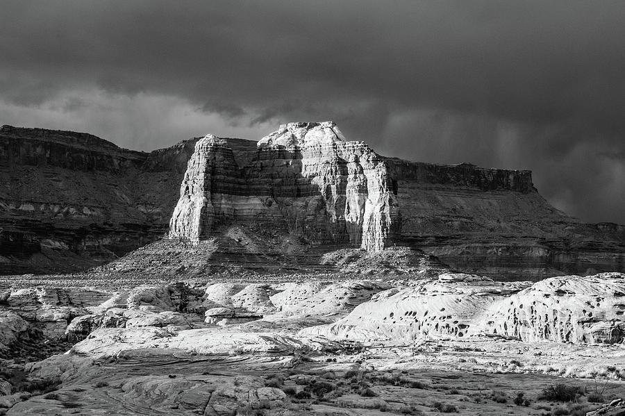 Utah Photograph - Utah Butte by Candy Brenton
