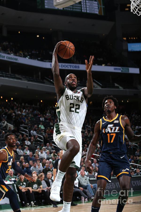 Utah Jazz V Milwaukee Bucks Photograph by Gary Dineen