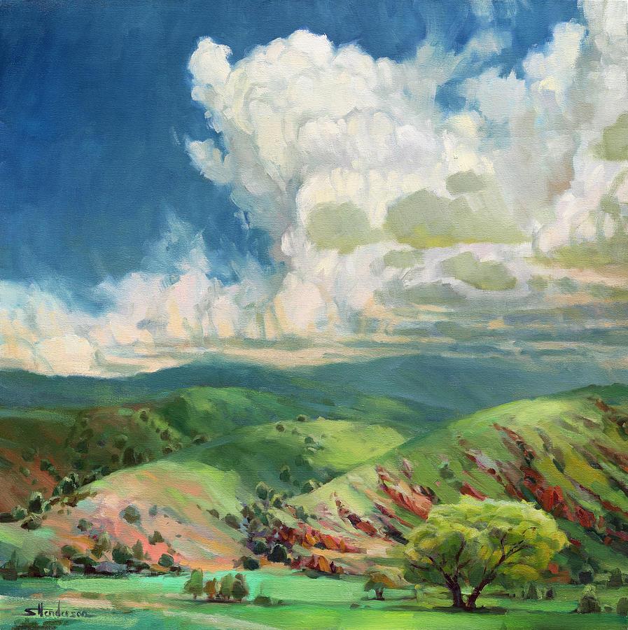 Utah Spring Painting