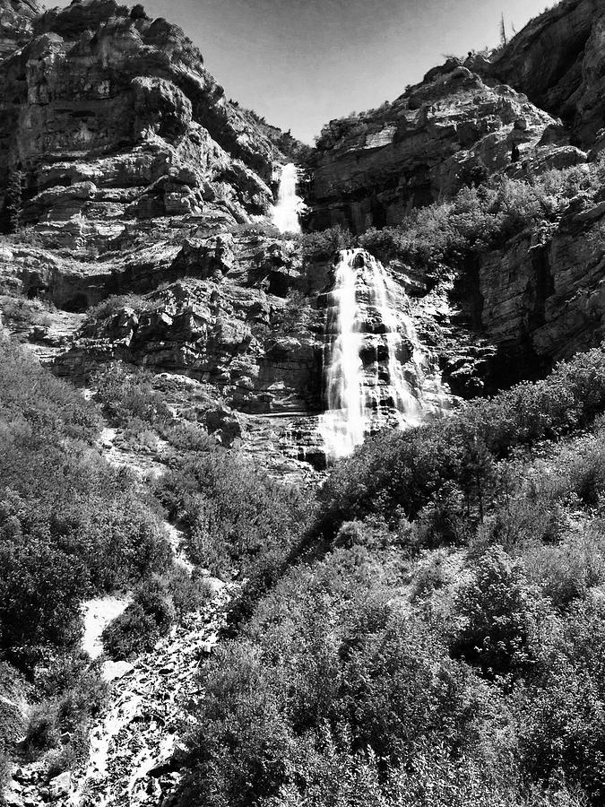 Utah Photograph - Utah Waterfall by Marty Klar