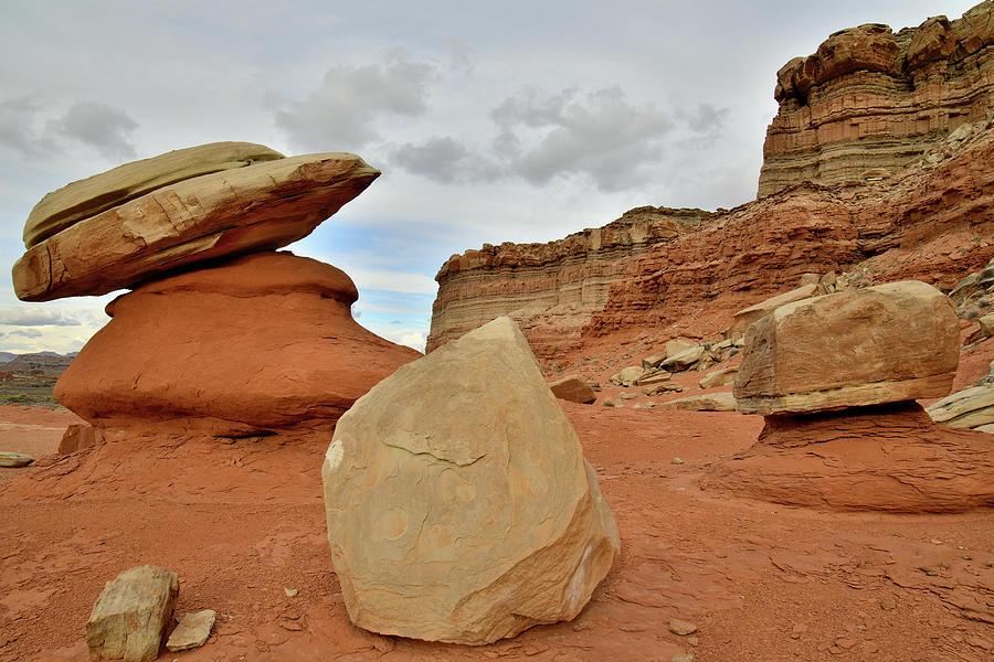 Utah's San Rafael Desert by Ray Mathis