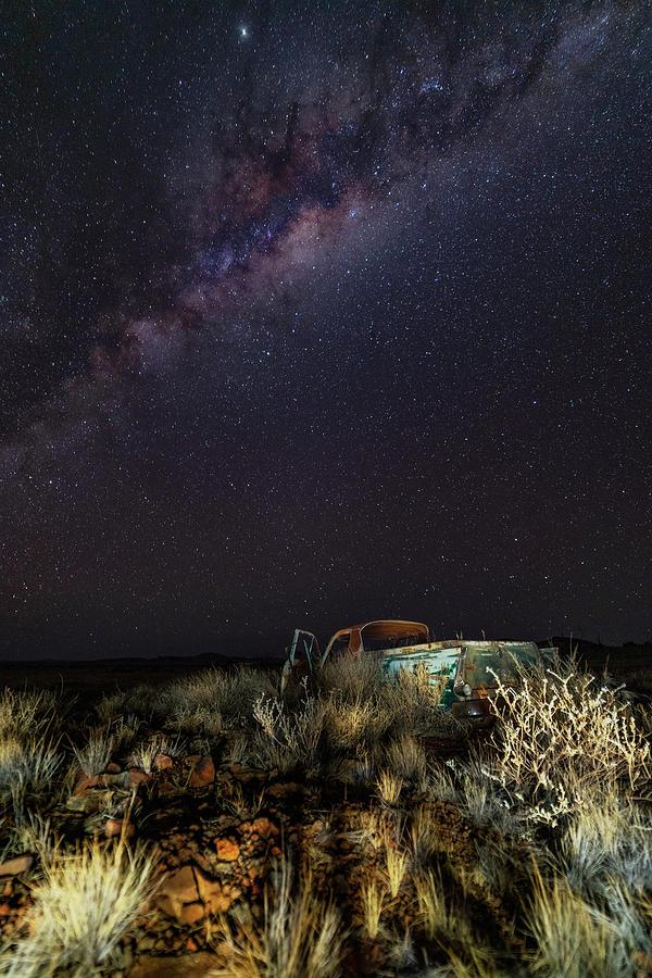 Ute Photograph by Mark Vegera