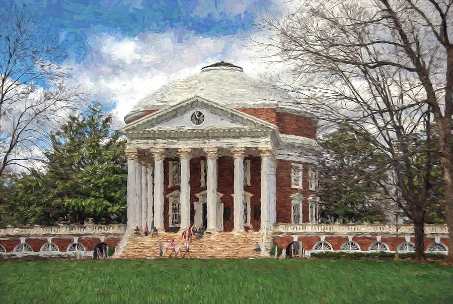 UVA Rotunda by Jerry Gammon