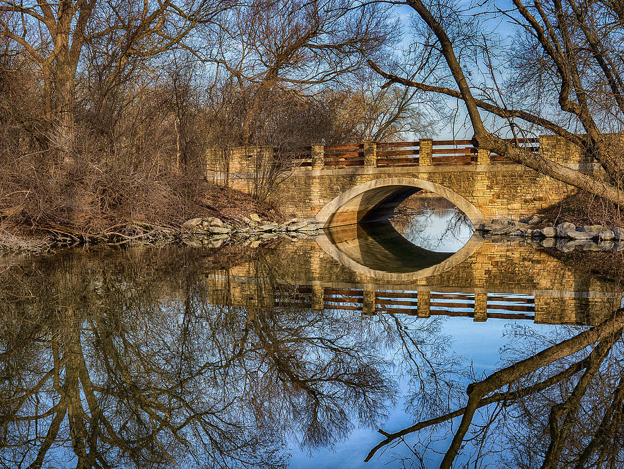 UW Arboretum  by Brad Bellisle