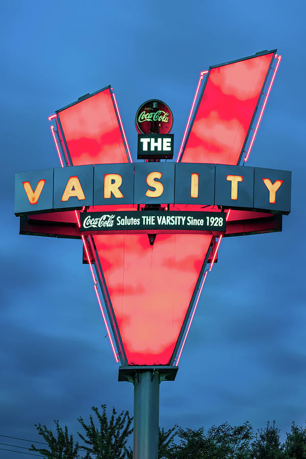 V Is For Varsity - Atlanta Georgia Photograph