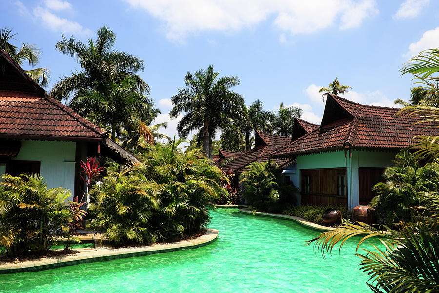 Vacation Villas Photograph by Plastic buddha