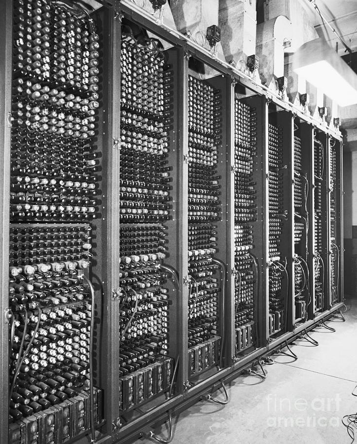 Vacuum Tubes Of Eniac Photograph by Bettmann