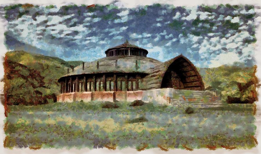 Vaes Dothrak Town Hall by Mario Carini