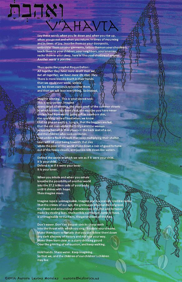 V'ahavta by Aurora Levins Morales