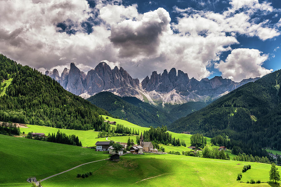 Europe Photograph - Val di Funes by Andrei Dima