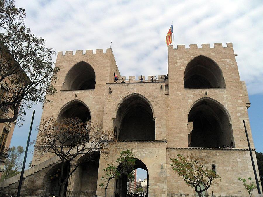Valencia Photograph - Valencia Fort Building by John Hughes