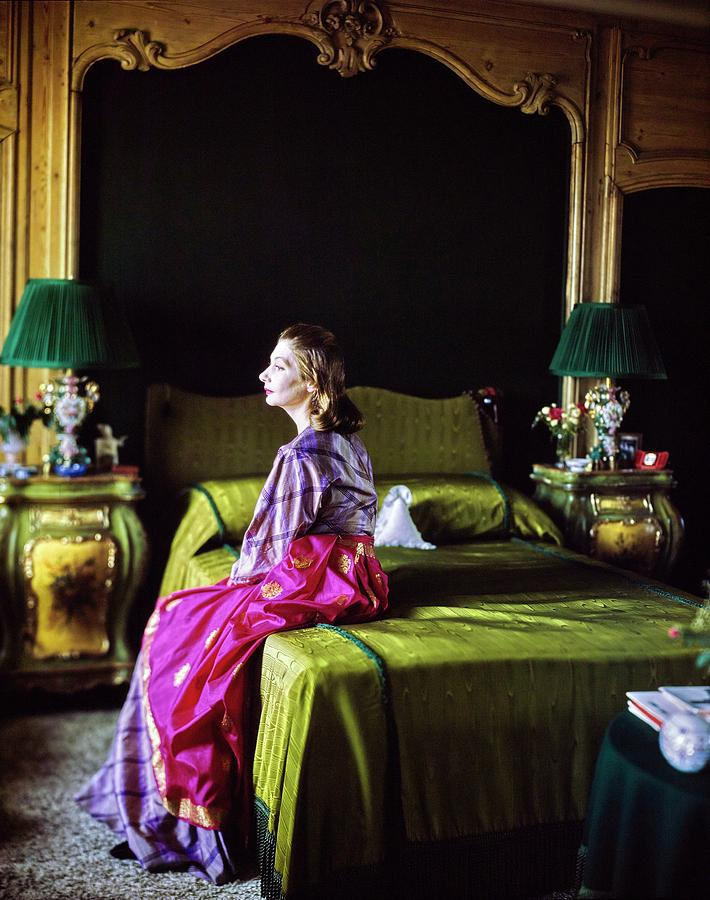 Valentina In Her Bedroom Photograph by Horst P. Horst