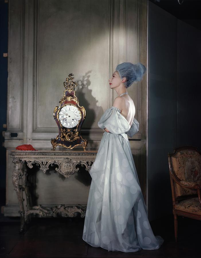 Valentina Wearing A Dress Of Her Own Design Photograph by Horst P. Horst