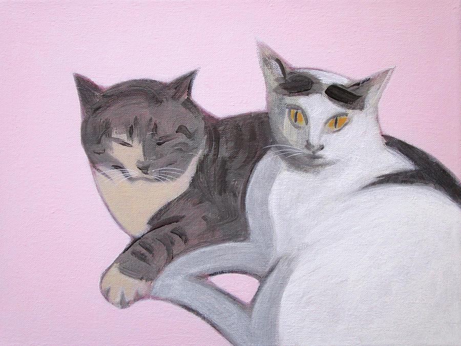 Valentine Cats by Kazumi Whitemoon