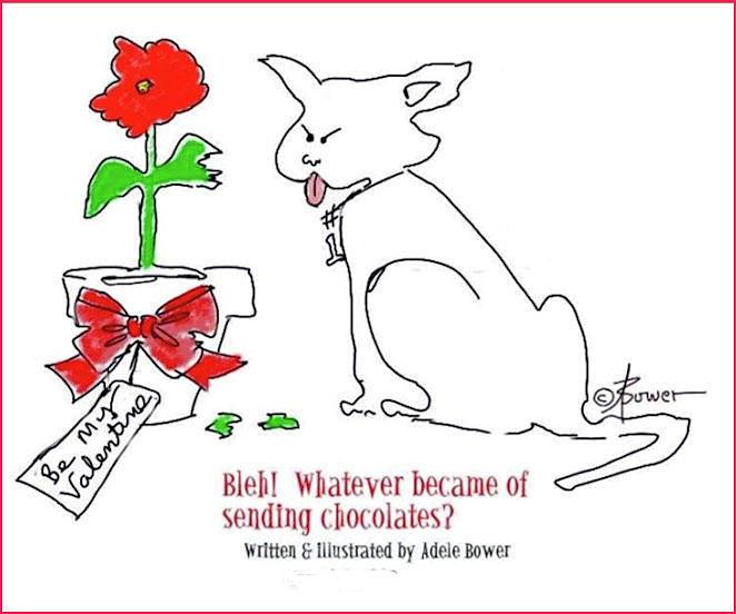 Valentine Chocolates  by Adele Bower