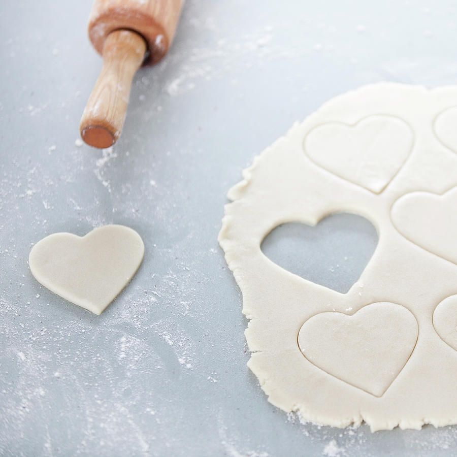 Valentines Cookie, Uncooked Photograph by Steven Errico