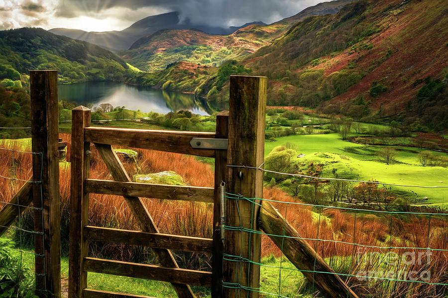 Valley Gate Snowdonia by Adrian Evans