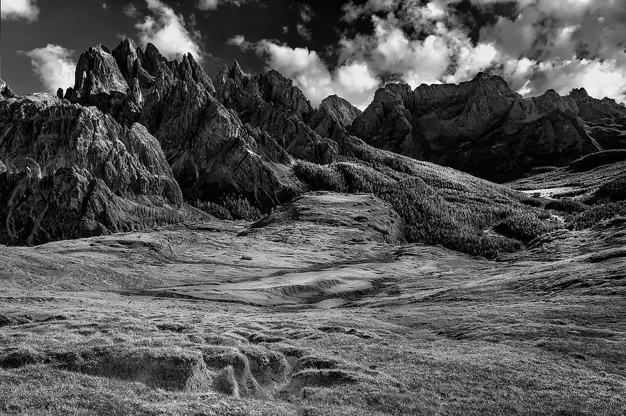 Valley in the Dolomites by Jon Glaser