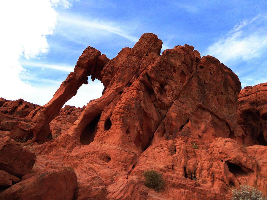 Valley of Fire - Elephant Rock by Alan Socolik