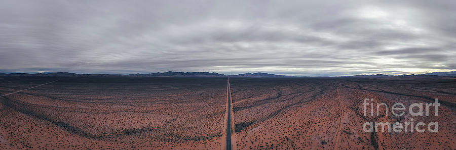 Valley Of Fire Road  by Michael Ver Sprill