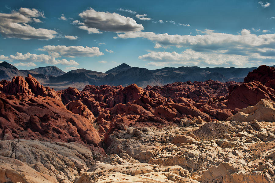 Valley of Fire Rugged Colors by Kristia Adams