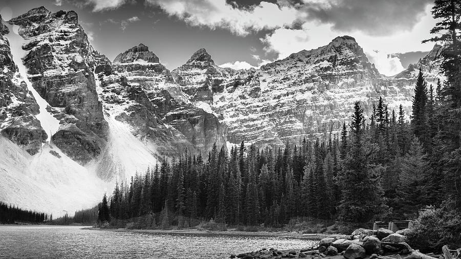 Valley of Ten Peaks by Philip Duff