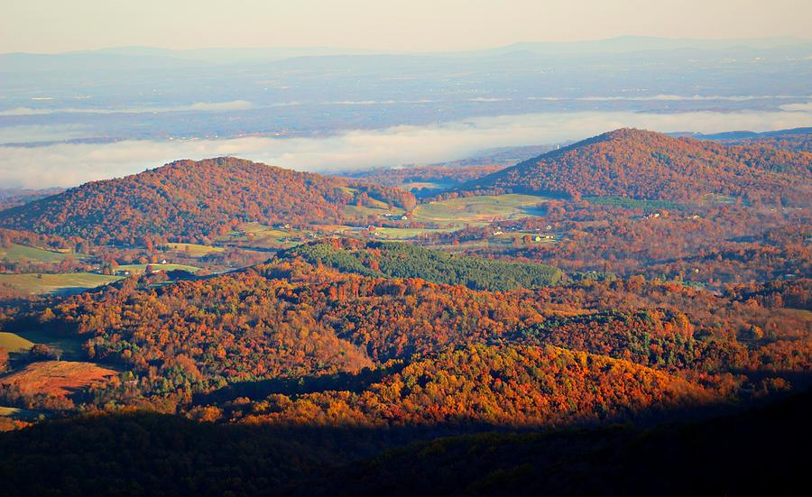 Virginia Photograph - Valley View by Candice Trimble