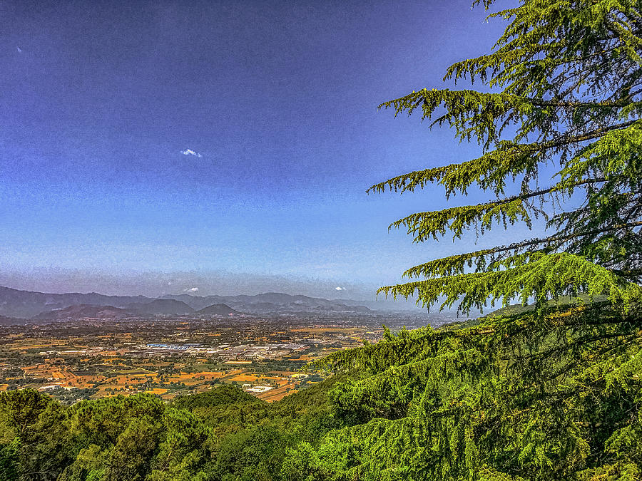 Abbey Of Montecassino Photograph - Valley View by Joseph Yarbrough
