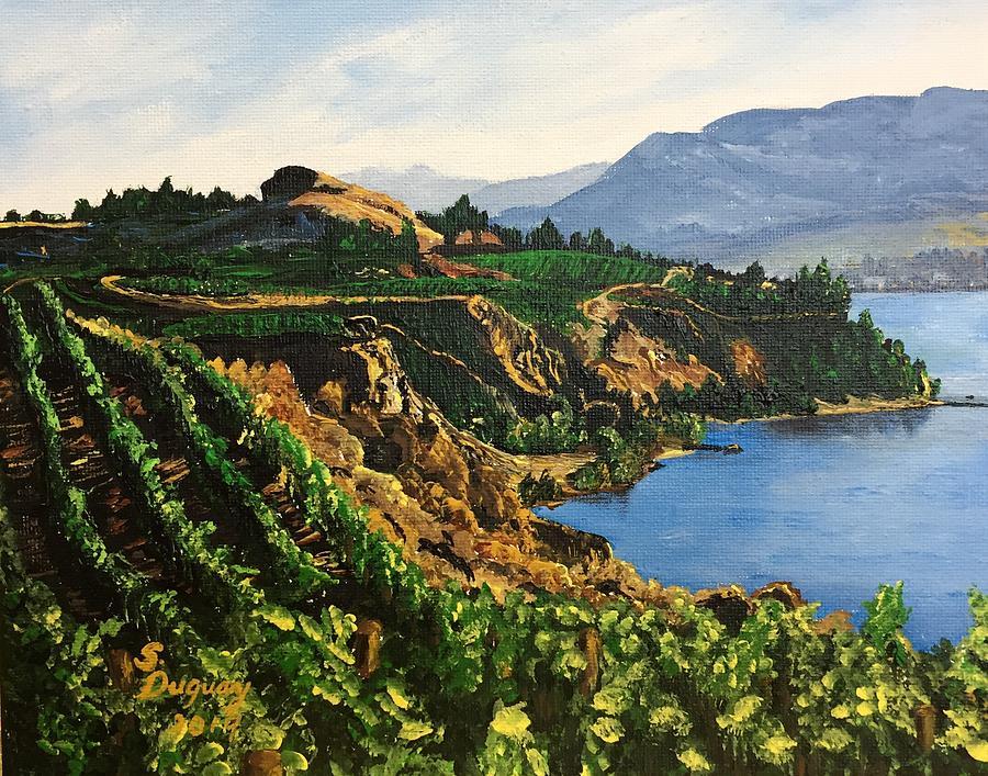 Valley Vineyard by Sharon Duguay