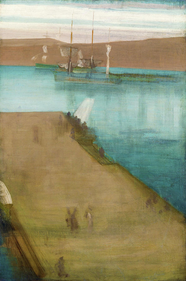 James Mcneill Whistler Painting - Valparaiso Harbor - Digital Remastered Edition by James McNeill Whistler