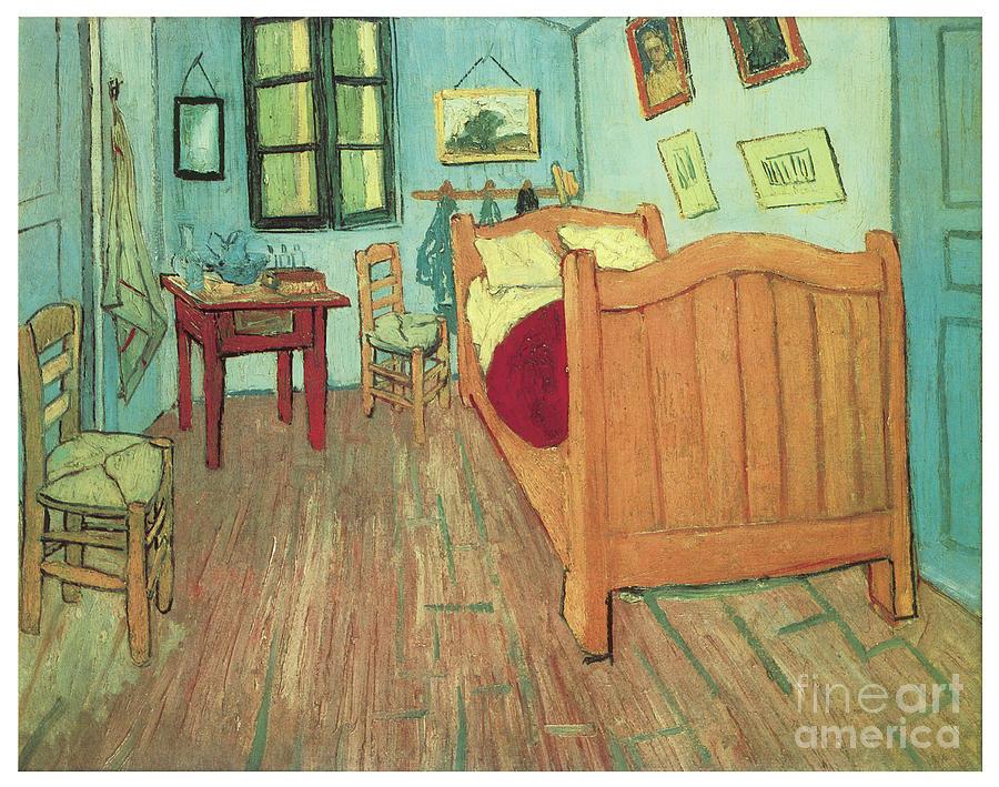 Van Goghs Bedroom by VINCENT VAN GOGH