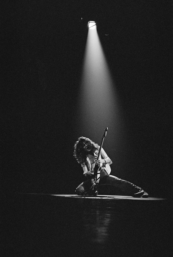 Van Halen Live At The Rainbow Photograph by Fin Costello