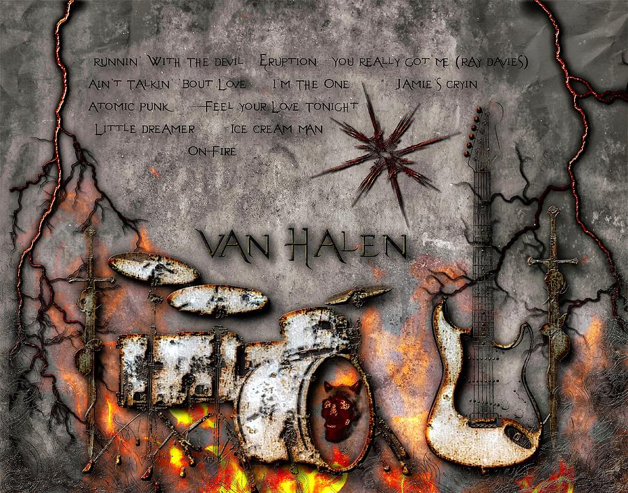 Van Halen Debut by Michael Damiani